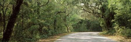 Road Fort Clinch State Park Amelia Island FL