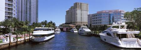 Yachts in a river New River Fort Lauderdale Browa