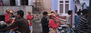 Musical band at a wedding reception