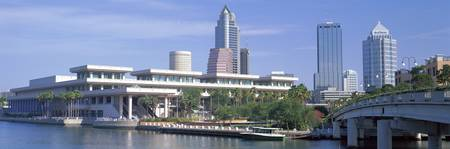 Tampa Convention Center Skyline Tampa FL