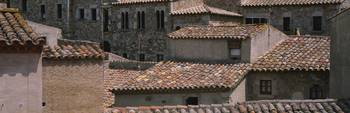 Rooftops Old Town Tossa De Mar Costa Brava Region
