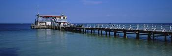 Rod and Reel Fishing Pier