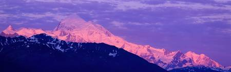 Dawn Mount Fairweather AK