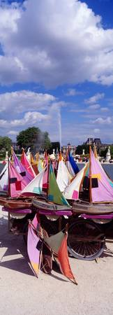 Sailboats Tuilleries Paris France