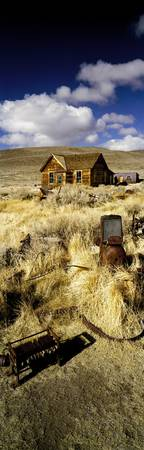House in a ghost town