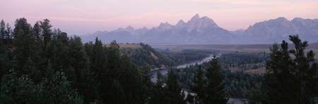 Sunrise Snake River Overlook Grand Teton National