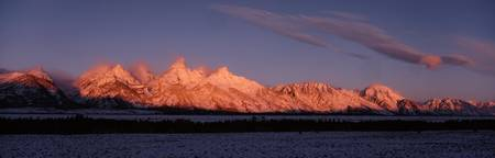 Mt Moran and Teton Range Grand Teton National Par