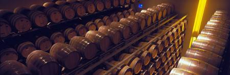 Barrel room Napa Valley CA