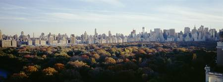 View over Central Park