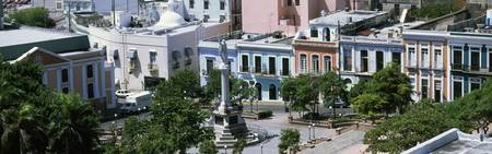 Plaza de Colon Old San Juan Puerto Rico