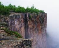 Palisade Head in mist
