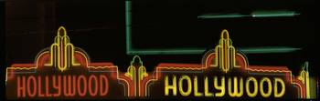 Hollywood Neon Sign Los Angeles CA