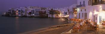 Little Venice Mykanos Greece