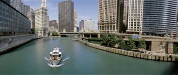 Boat Chicago River Chicago IL