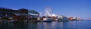 Navy Pier Lake Michigan Chicago IL