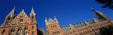 St Pancras Railway Station London England