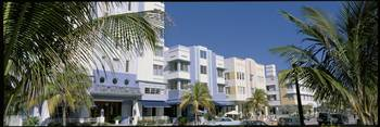 Art Deco District Miami Beach FL