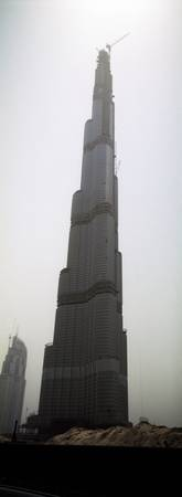 Worlds tallest building under construction