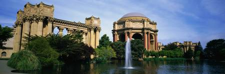 Palace of Fine Arts San Francisco CA