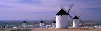Windmills LaMancha Spain