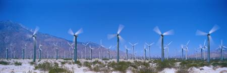 Wind Generators near Palm Springs California