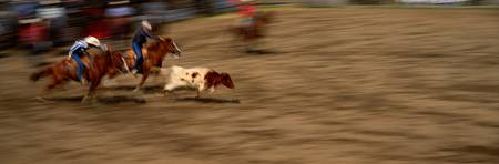 Rodeo Cowboys in Action Winthrop WA