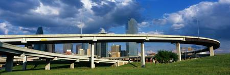 Freeway Overpass Dallas TX