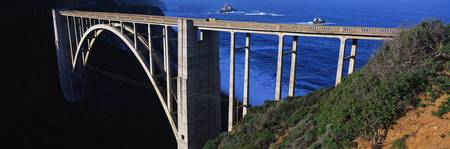 Bixby Bridge Pacific Coast Highway CA