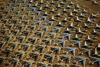 Rows of B-52s Tucson AZ