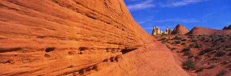 Sandstone Cliff Valley of Fire NV