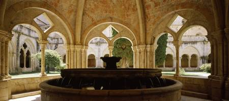 Fountain in a monastery