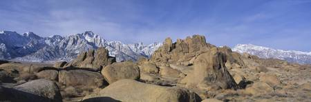 Mt Whitney Alabama Hills National Park CA