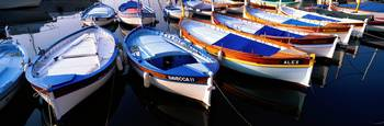 Traditional Fishing Boats Villefranche-sur-Mer Fr