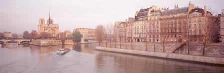 Buildings near Seine river