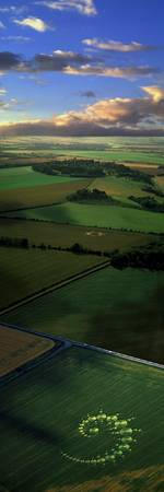 Crop Circles England (Photo Montage)