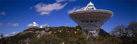 Radio Telescope and Observatories Kitt Peak Arizo
