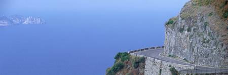Cliff Road near Positano Italy