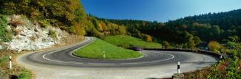 Highway Switchback Black Forest (Schwarzwald) nea