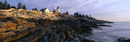 Lighthouse in Maine