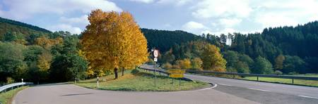 Country Roads and Intersection near Heidelberg Ge