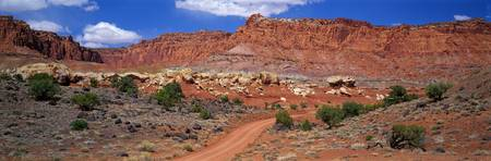 Primitive Road Capitol Reef National Park Utah