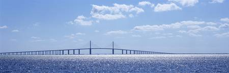 Bridge across a bay