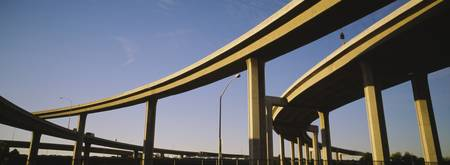 Low angle view of an overpasses