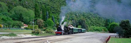 Steam Train Kingston New Zealand