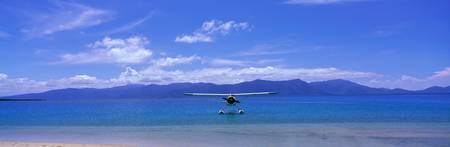 Float Plane Hope Island Great Barrier Reef Austra