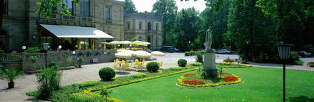 Outdoor Cafe Kurhaus Bad Kissingen Germany