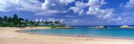 Beach at Ko Olina Resort Oahu Hawaii