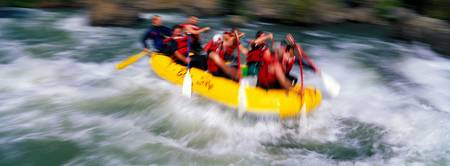 Whitewater rafting on the Tieton River Washington