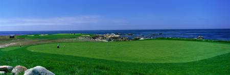 Golf Course Spyglass Hill CA