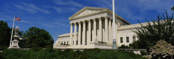 US Supreme Court Building Washington DC